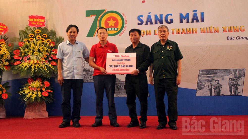 Bắc Giang: Gặp mặt kỷ niệm 70 năm sáng mãi ngọn lửa thanh niên xung phong
